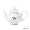 Augarten 'Old Winner (Viennese) Rose' [Mozart Shape] Tea Pot 1.2L (L)