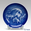 Bing & Grondahl Collectibles 2003 Mothers day plate - Pig with piglets, 15 cm