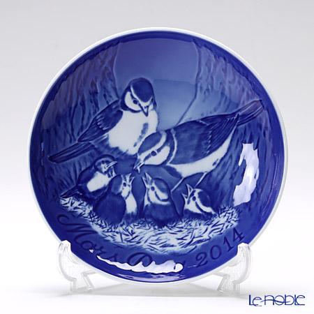 ビングオーグレンダール(Bing&Grondahl) マザーズデイプレート 2014年 「Blue Tit」