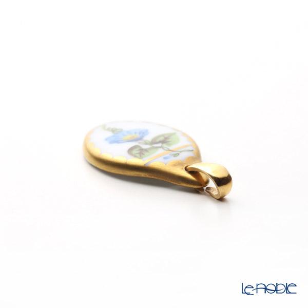 ヘレンド ペンダントトップ NY 08139-0-00モーニンググローリー 2cm