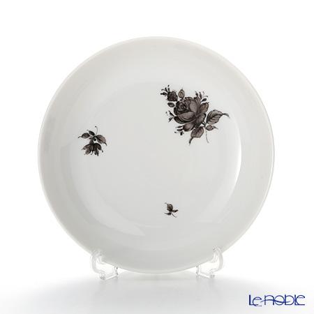 アウガルテン(AUGARTEN) マリアテレジア シンプル(SA5985) グレイ ラウンドディッシュ 12.5cm(069)