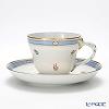 Augarten 'Biedermeier' [Rococo shape] Coffee Cup & Saucer