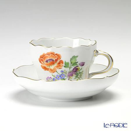 マイセン(Meissen) ベーシックフラワー(三つ花) 060110/00582/20 コーヒーカップ&ソーサー 200cc Motiv No.20 ラナンキュラス