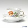 マイセン(Meissen) ベーシックフラワー(三つ花) 060110/00582/20コーヒーカップ&ソーサー 200cc Motiv No.20 ラナンキュラス