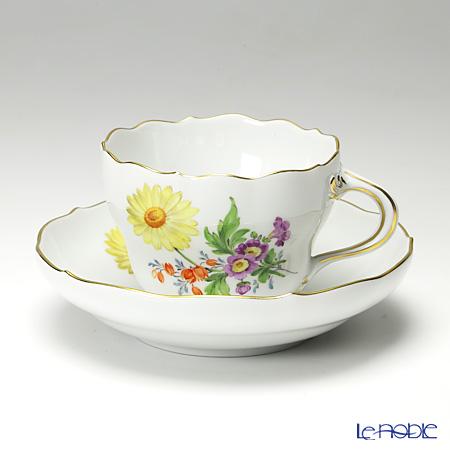 マイセン(Meissen) ベーシックフラワー(三つ花) 060110/00582/25 コーヒーカップ&ソーサー 200cc Motiv No.25 マーガレット