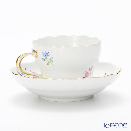 マイセン(Meissen) ベーシックフラワー(三つ花) 060110/00582/26コーヒーカップ&ソーサー 200cc Motiv No.26 スイセン