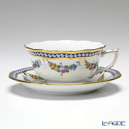ヘレンド 真珠の首飾 GPN 20734-0-00/20724 ティーカップ&ソーサー(ロウ)