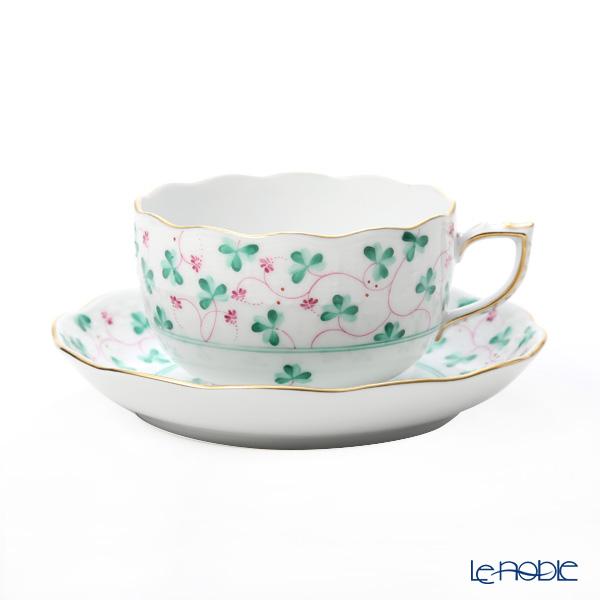 Herend 'Clover Green / Trifolium des Champs' TC 00724-0-00 Tea Cup & Saucer 200ml