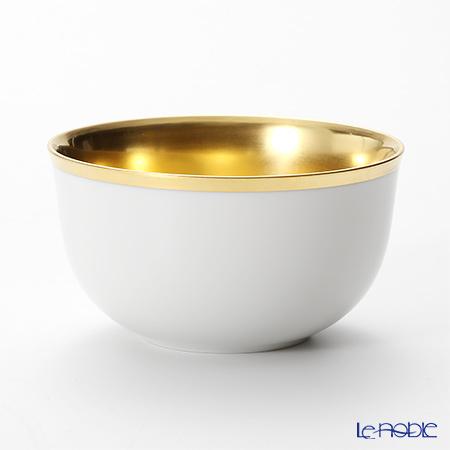 アウガルテン(AUGARTEN) トリアノン(7042) シャンパンボウル ホワイト/ゴールド