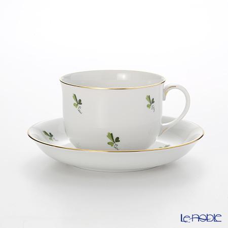アウガルテン(AUGARTEN) スキャタードグレープリーブス(6490) コーヒーカップ&ソーサー 0.2L(001シューベルトシェイプ)