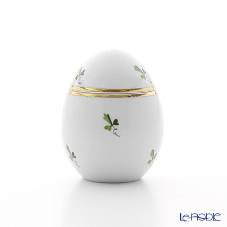 Augarten 'Scattered Vine (Grape) Leaves' Standing Egg Box H8cm