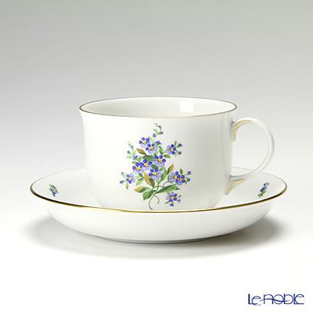 アウガルテン(AUGARTEN) 忘れな草(6690)コーヒーカップ&ソーサー 0.2L(001)