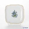 Augarten (AUGARTEN) forget-me-not (6690) Square dish 9 x 9 cm 700110