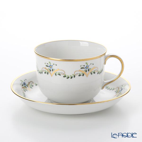 アウガルテン(AUGARTEN) ビーダーマイヤーガーランド(6701) コーヒーカップ&ソーサー 0.2L