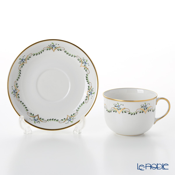 Augarten 'Biedermeier Garlands' Coffee Cup & Saucer 200ml