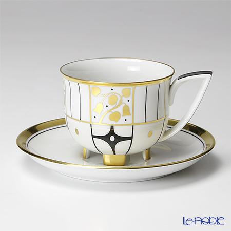 アウガルテン(AUGARTEN) デコヴィエナ ホフマン リッチ(6734R)コーヒーカップ&ソーサー 0.2L(019)