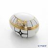 Augarten Deco Vienne Egg Shape Box, 6734/606