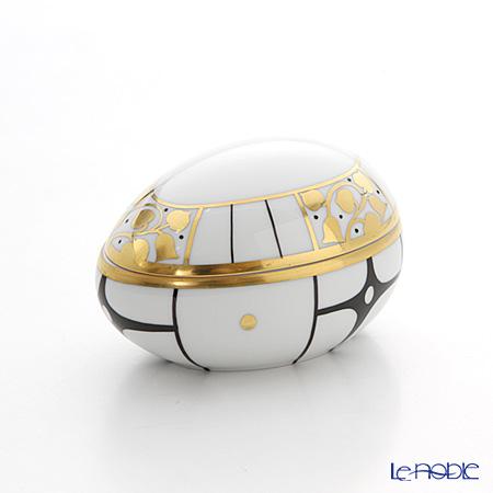 Augarten 'Déco Vienne' Lying Egg Box H5.5cm