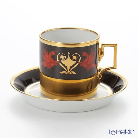 アウガルテン(AUGARTEN) カレッジ(6744) コーヒーカップ&ソーサー(098)