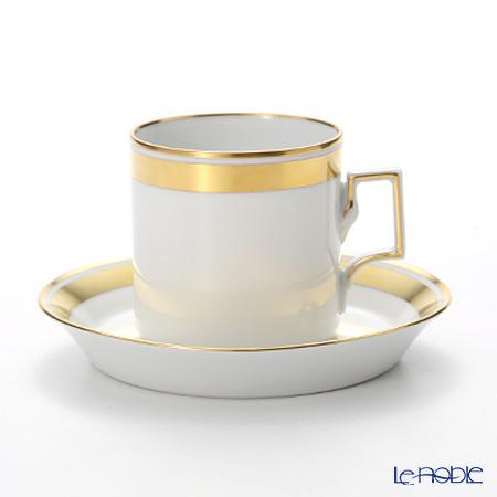 アウガルテン(AUGARTEN) エリザベス(6745)コーヒーカップ&ソーサー(098ハプスブルクシェイプ)