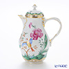 Augarten 'Romantic Painting - Fantasy Bird' [Rococo shape] Coffee Pot 1150ml (L)