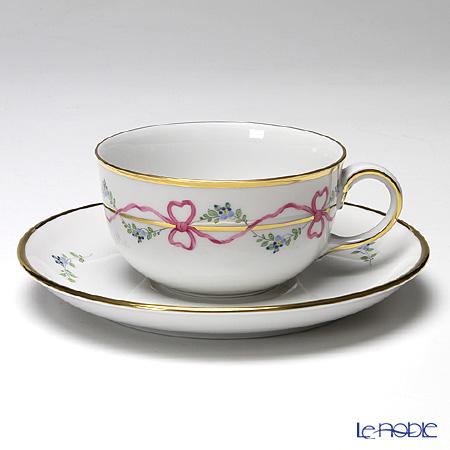 アウガルテン(AUGARTEN) ビーダーマイヤー リボン(6793) ティーカップ&ソーサー(S) 0.2L(001)