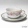 アウガルテン(AUGARTEN) ビーダーマイヤー リボン(6793)ティーカップ&ソーサー(S) 0.2L(001)
