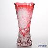 Meissen Crystal 'Winter Dragon' Red 180/40R Vase H40cm