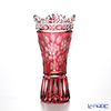 Meissen Crystal 'Flower' Red MFO/180/15R Vase H15cm