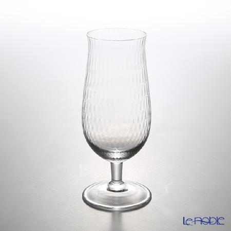マイセン(Meissen) 波の戯れグラス ビアグラス 0.33L クリア