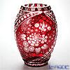 Meissen Crystal 'Flowers' Red F2283/26R Vase H26cm