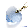 Meissen Crystal 'Flower' Light Blue Pendant Top (Heart shape)