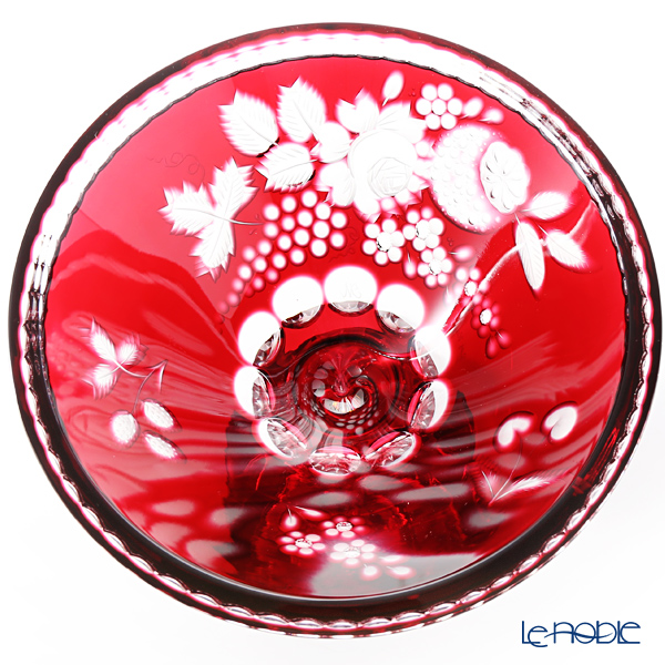 Meissen Crystal 'Flowers and Fruits' 99999/20R Pedestal Bowl H17.5cm
