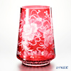 Meissen (Meissen) Meissen Crystal 52550 of poppy flowers and vase 27 R (red) 27 cm