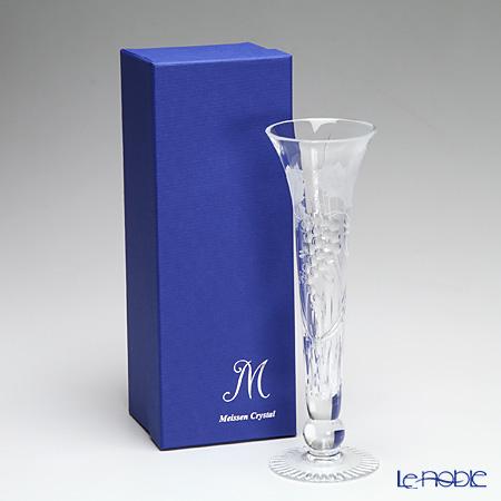Meissen Crystal 'Wine Leaves' Clear 1024/23 Single Flower (Bud) Vase H24cm