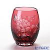 Meissen Crystal 'Flowers' Red 110/150/10R Tumbler H10cm