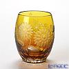 Meissen Crystal 'Flowers' Yellow 110/150/10Y Tumbler H10cm