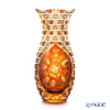 Meissen Crystal 'Flowers' Amber Yellow LF/1127/29AB Vase H28.8cm