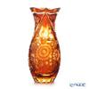 Meissen Crystal 'Flowers' Amber Yellow SOM/1127/29AB Vase H28.8cm
