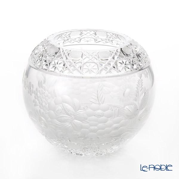 マイセン(Meissen) マイセンクリスタル MFO/140/16 花瓶ラウンド(クリア) 16cm