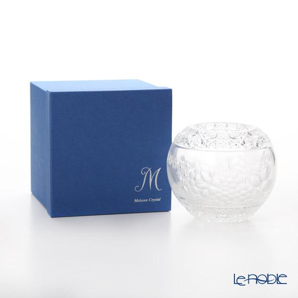 Meissen Crystal 'Flowers' Clear MFO/140/16 Round Vase H14cm