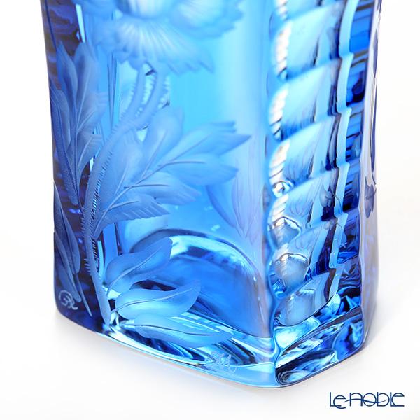 Meissen Crystal 'Flowers' Light Blue SOM/1490/24LB Vase H23.5cm