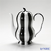 Augarten 'Melon' Black & White Mocha Coffee Pot 500ml