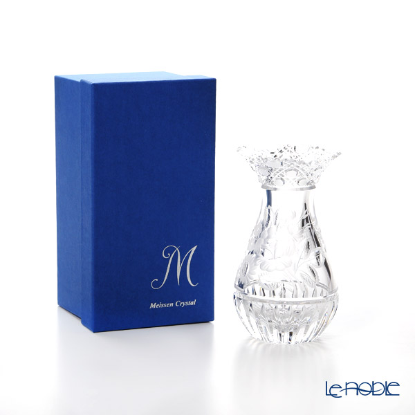 Meissen Crystal 'Flowers' Clear MFO1420/16 Vase H16cm