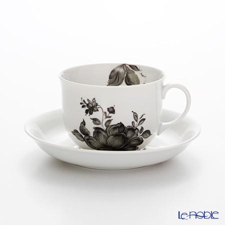 アウガルテン(AUGARTEN) マリアテレジア2.0 グレイ(7798) コーヒーカップ&ソーサー 0.2L(001シューベルトシェイプ)