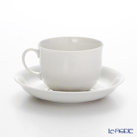 アウガルテン(AUGARTEN) マリアテレジア2.0 グレイ(7798)コーヒーカップ&ソーサー 0.2L(001シューベルトシェイプ)