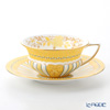 ウェッジウッド(Wedgwood) ハーレクインコレクションカップ&ソーサー(イエローリボン)
