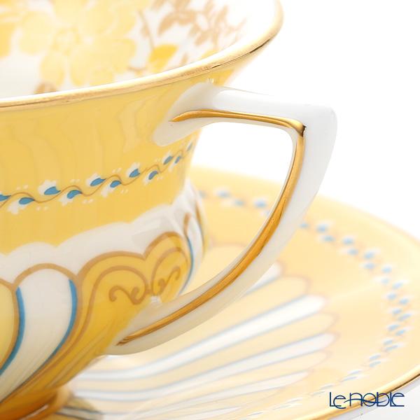 ウェッジウッド(Wedgwood) ハーレクィーンコレクションカップ&ソーサー(イエローリボン)