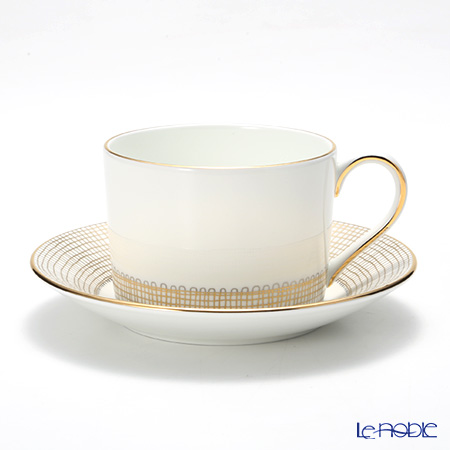 Wedgwood Vera Wang - Gilded Weave Teacup & Saucer