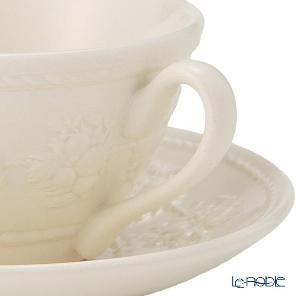 ウェッジウッド(Wedgwood) フェスティビティティーカップ&ソーサー 160cc(アイボリー)